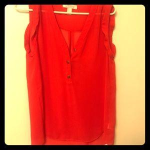🌺Forever 21 Sheer sleeveless blouse